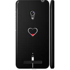 Чехол на Asus Zenfone 5 Подзарядка сердца (4274c-81)