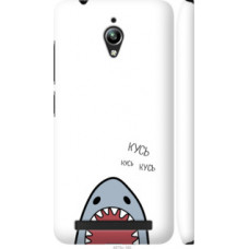 Чехол на Asus Zenfone Go ZC500TG Акула (4870c-160)