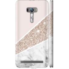 Чехол на Asus ZenFone Selfie ZD551KL Пастельный мрамор (4342c-116)