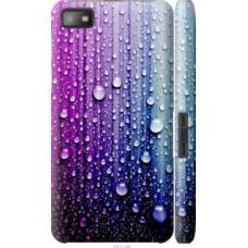 Чехол на Blackberry Z10 Капли воды (3351c-392)
