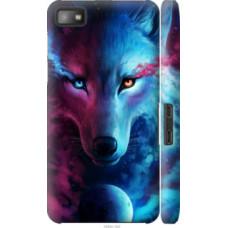 Чехол на Blackberry Z10 Арт-волк (3999c-392)