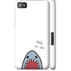 Чехол на Blackberry Z10 Акула (4870c-392)