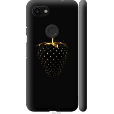 Чехол на Google Pixel 3a Черная клубника (3585c-1700)