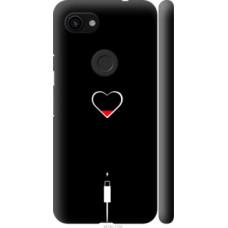 Чехол на Google Pixel 3a Подзарядка сердца (4274c-1700)