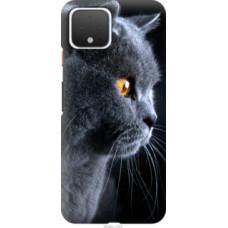Чехол на Google Pixel 4 Красивый кот (3038u-1755)