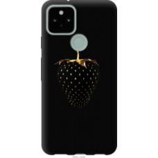Чехол на Google Pixel 5 Черная клубника (3585u-2044)
