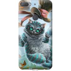 Чехол на HTC Desire 12 Plus Чеширский кот 2 (3993u-1485)