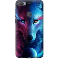 Чехол на HTC Desire 12 Plus Арт-волк (3999u-1485)