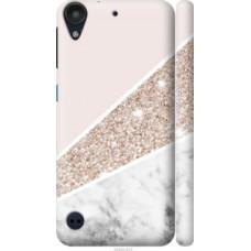 Чехол на HTC Desire 530 Пастельный мрамор (4342c-613)
