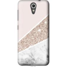 Чехол на HTC Desire 620 Пастельный мрамор (4342u-186)
