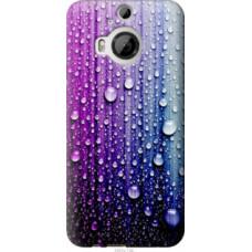 Чехол на HTC One M9 Plus Капли воды (3351u-134)