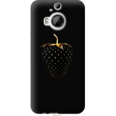 Чехол на HTC One M9 Plus Черная клубника (3585u-134)