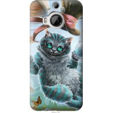 Чехол на HTC One M9 Plus Чеширский кот 2 (3993u-134)