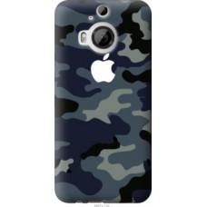 Чехол на HTC One M9 Plus Камуфляж 1 (4897u-134)