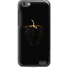Чехол на HTC One V t320e Черная клубника (3585u-227)