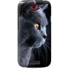 Чехол на HTC One S z560e Красивый кот (3038u-226)