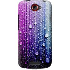 Чехол на HTC One S z560e Капли воды (3351u-226)