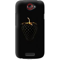 Чехол на HTC One S z560e Черная клубника (3585u-226)