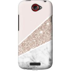Чехол на HTC One S z560e Пастельный мрамор (4342u-226)