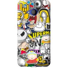 Чехол на HTC U11 Life Popular logos (4023u-1385)
