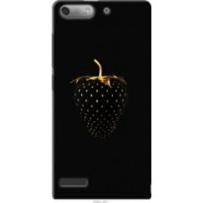 Чехол на Huawei Ascend G6 Черная клубника (3585u-367)