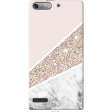 Чехол на Huawei Ascend G6 Пастельный мрамор (4342u-367)