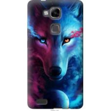 Чехол на Huawei Ascend Mate 7 Арт-волк (3999u-140)