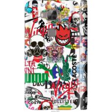 Чехол на Huawei G8 Many different logos (4022c-493)