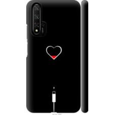 Чехол на Huawei Honor 20 Подзарядка сердца (4274c-1697)