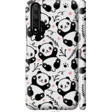 Чехол на Huawei Honor 20 Панды (4318c-1697)