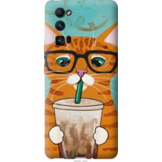 Чехол на Huawei Honor 30 Pro Зеленоглазый кот в очках (4054u-1920)