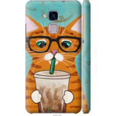 Чехол на Huawei GT3 Зеленоглазый кот в очках (4054c-472)