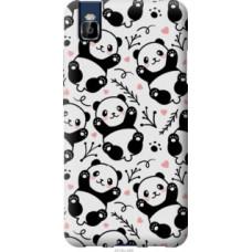 Чехол на Huawei Honor 7i Панды (4318u-489)