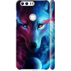 Чехол на Huawei Honor 8 Арт-волк (3999c-351)