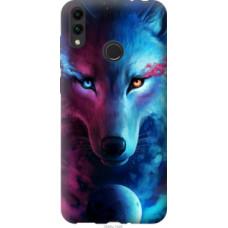 Чехол на Huawei Honor 8C Арт-волк (3999u-1590)