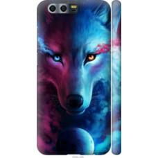 Чехол на Huawei Honor 9 Арт-волк (3999c-998)