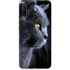 Чехол на Huawei Honor 9X Красивый кот (3038u-1746)