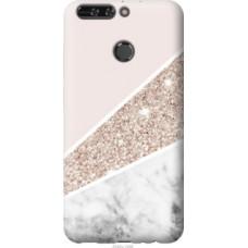 Чехол на Huawei Honor V9 / Honor 8 Pro Пастельный мрамор (4342u-1246)
