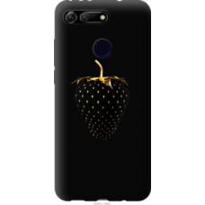 Чехол на Huawei Honor View 20 Черная клубника (3585u-1645)