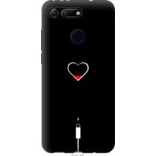Чехол на Huawei Honor View 20 Подзарядка сердца (4274u-1645)