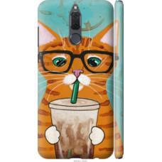 Чехол на Huawei Mate 10 Lite Зеленоглазый кот в очках (4054c-1240)