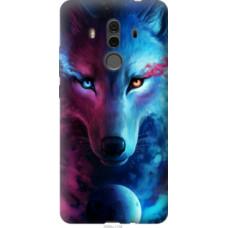 Чехол на Huawei Mate 10 Pro Арт-волк (3999u-1138)