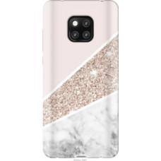 Чехол на Huawei Mate 20 Pro Пастельный мрамор (4342u-1567)