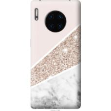 Чехол на Huawei Mate 30 Pro Пастельный мрамор (4342u-1796)