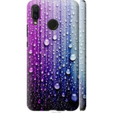 Чехол на Huawei Nova 3 Капли воды (3351c-1535)
