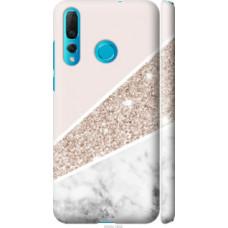 Чехол на Huawei Nova 4 Пастельный мрамор (4342c-1632)