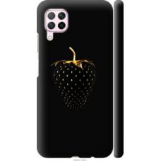 Чехол на Huawei Nova 6SE Черная клубника (3585c-1823)