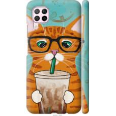 Чехол на Huawei Nova 6SE Зеленоглазый кот в очках (4054c-1823)