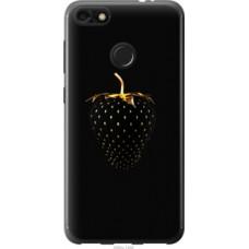 Чехол на Huawei Nova Lite 2017 Черная клубника (3585u-1400)