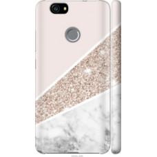 Чехол на Huawei Nova Пастельный мрамор (4342c-439)
